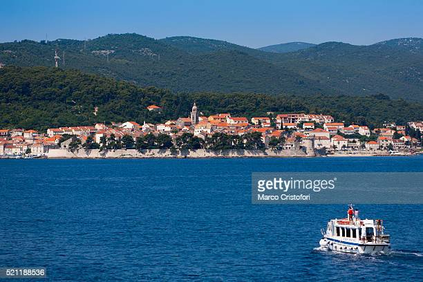 korcula, korcula island, croatia - marco cristofori fotografías e imágenes de stock