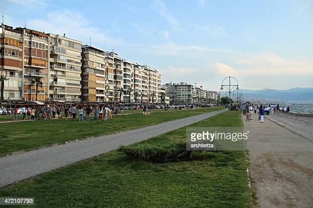 kordon, alsancak, izmir, turkey - izmir stock pictures, royalty-free photos & images