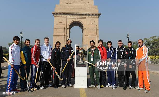 Korea captain Ch Jong Bok Australia captain Jamie Dwyer England captain Barry Middleton Canada captain Ken Pereira Germany captain Maximillian Müller...