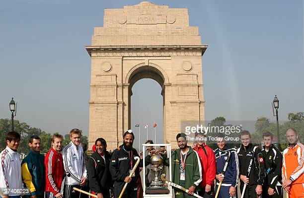 Korea captain Ch Jong Bok Australia captain Jamie Dwyer England captain Barry Middleton Canada captain Ken Pereira Germany captain Maximillian Muller...
