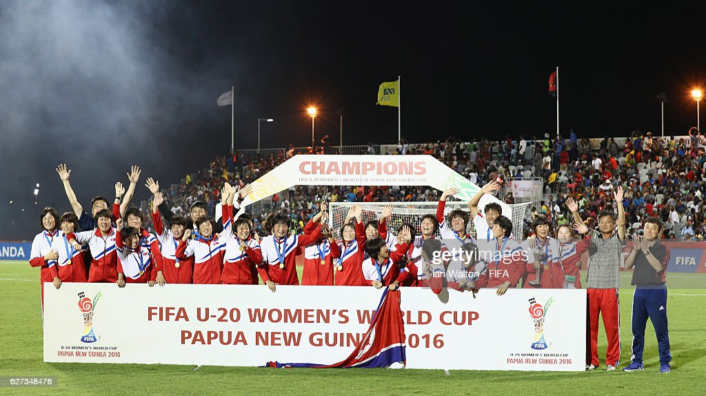 Korea DPR v France: Final - FIFA U-20 Women's World Cup Papua New Guinea 2016 : News Photo