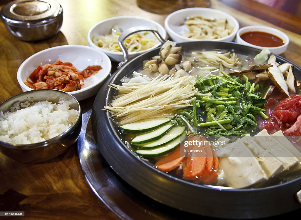 Korea food : Stock Photo