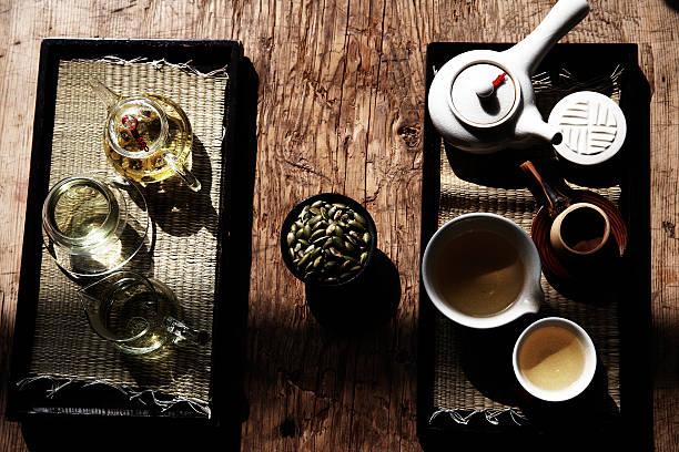 korea food,traditional tea set