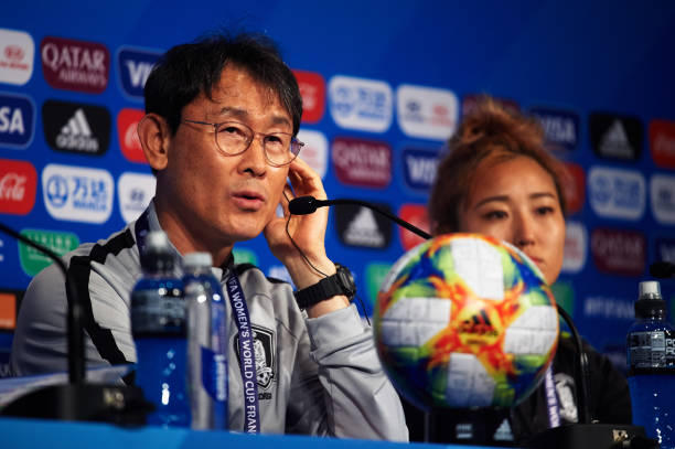 FRA: Korea Republic Press Conference - 2019 FIFA Women's World Cup France