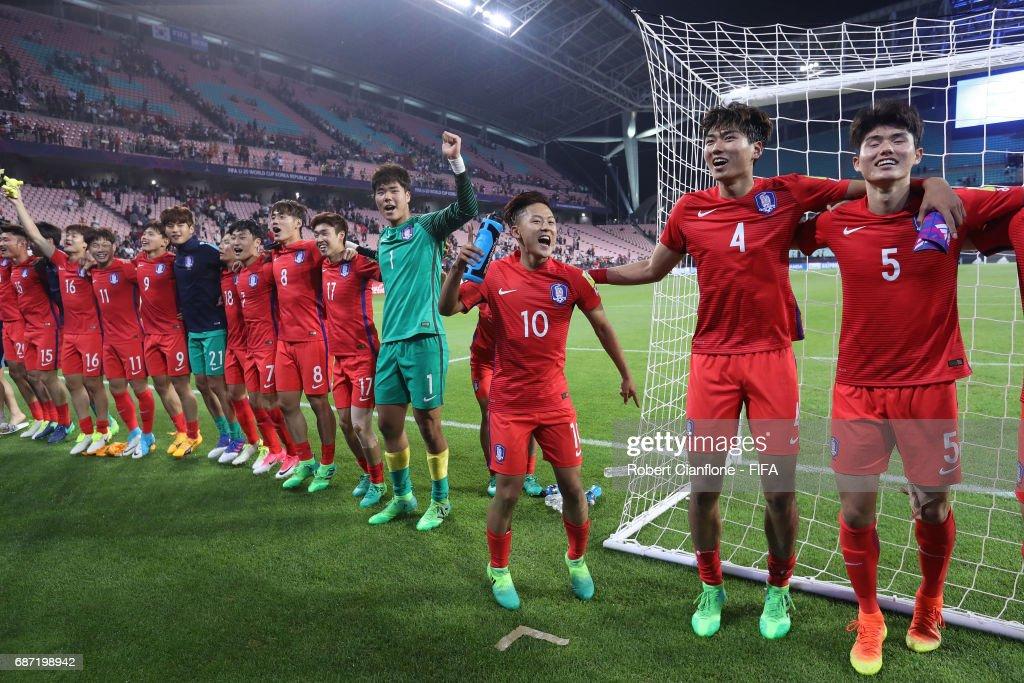 Korea Republic v Argentina - FIFA U-20 World Cup Korea Republic 2017 : News Photo