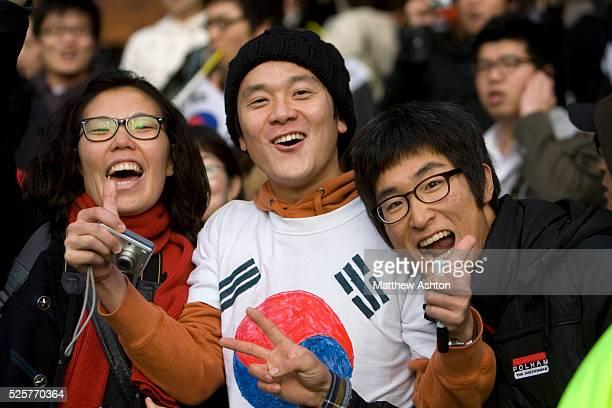 Korea Republic fans / supporters