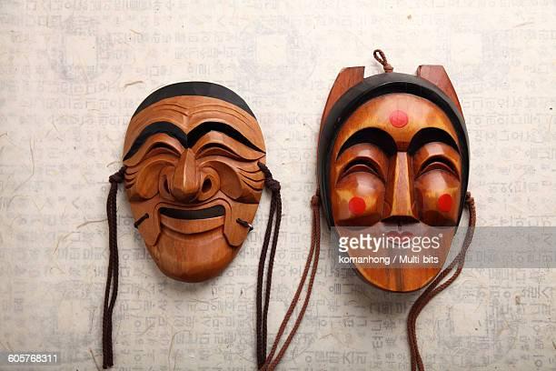Korea Traditional mask