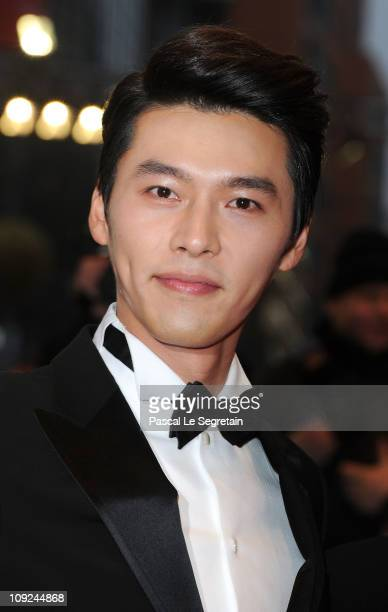 Korean actor Bin Hyun attends the 'Saranghanda Saranghaji Anneunda' Premiere during day eight of the 61st Berlin International Film Festival at...