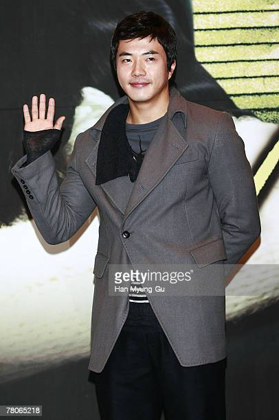 """Korean Actor Kwon Sang-Woo attends KBS drama """"Bad Love"""" press conference at Imperial Palace Hotel on November 22, 2007 in Seoul, South Korea."""