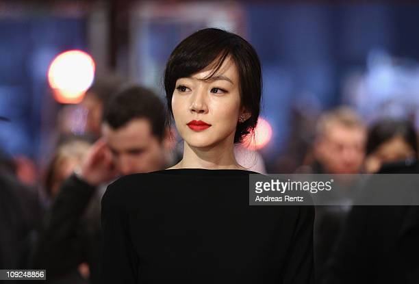 Korean actress Soojung Lim attends the 'Saranghanda Saranghaji Anneunda' Premiere during day eight of the 61st Berlin International Film Festival at...