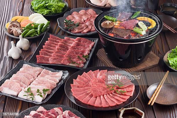 korean barbecue - 韓国文化 ストックフォトと画像