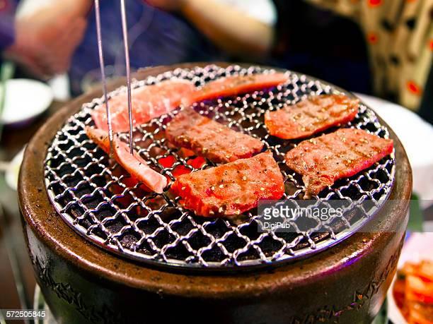 korean barbecue (shoot brief #11) - 韓国文化 ストックフォトと画像