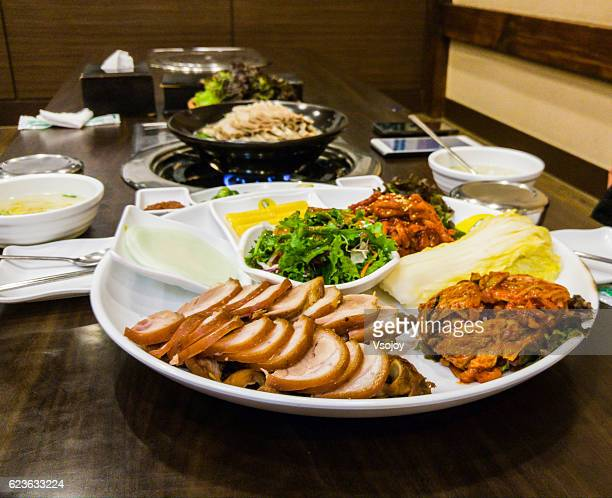Korean barbecue (Gogigui)