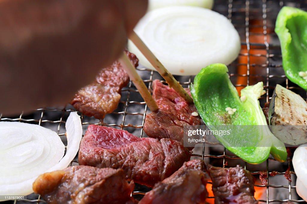 Korean barbeque : Stock Photo