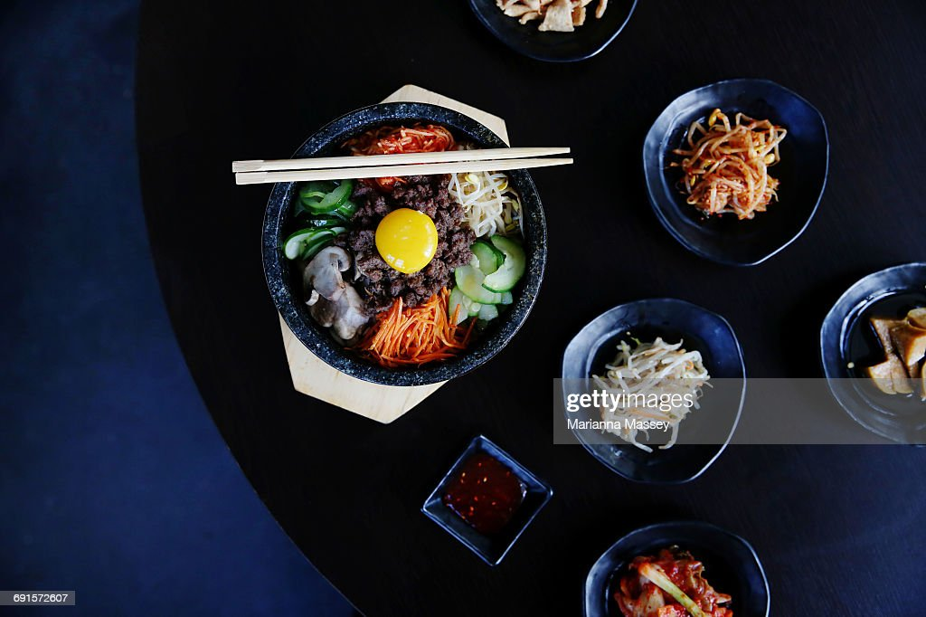 Korean BBQ Assortment : Stock Photo