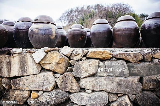 Korean clay jars