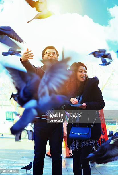 Korean Couple in Istanbul