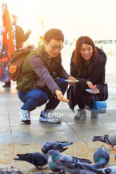 Korean Couple in Istanbul
