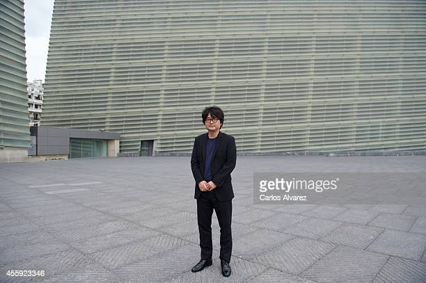 "Korean director Shim Sung-bo attends the ""Haemu"" photocall at the Kursaal Palace during the 62nd San Sebastian Film Festival on September 22, 2014 in..."