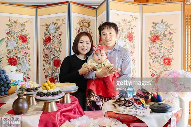 Korean first birthday celebrations