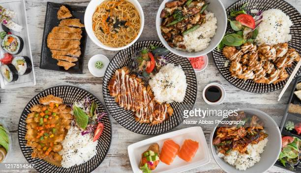 korean food background. - wasabi sauce stock pictures, royalty-free photos & images