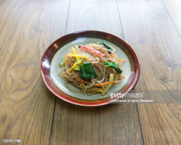 korean food - jc bonassin stock pictures, royalty-free photos & images