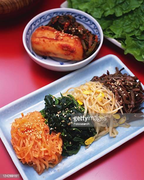korean food - 韓国料理 ストックフォトと画像