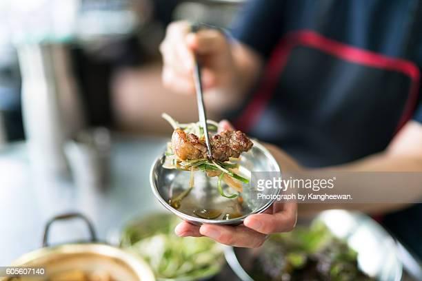 korean food - korean food stock pictures, royalty-free photos & images