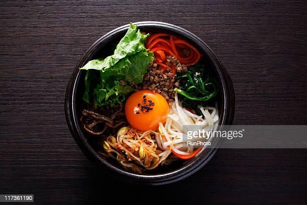 korean food,bibimbap - 韓国料理 ストックフォトと画像