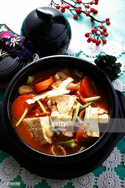 korean food,tofu,nabe