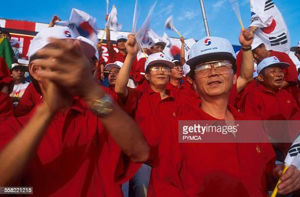 Korean Football fans World Cup Japan 2002