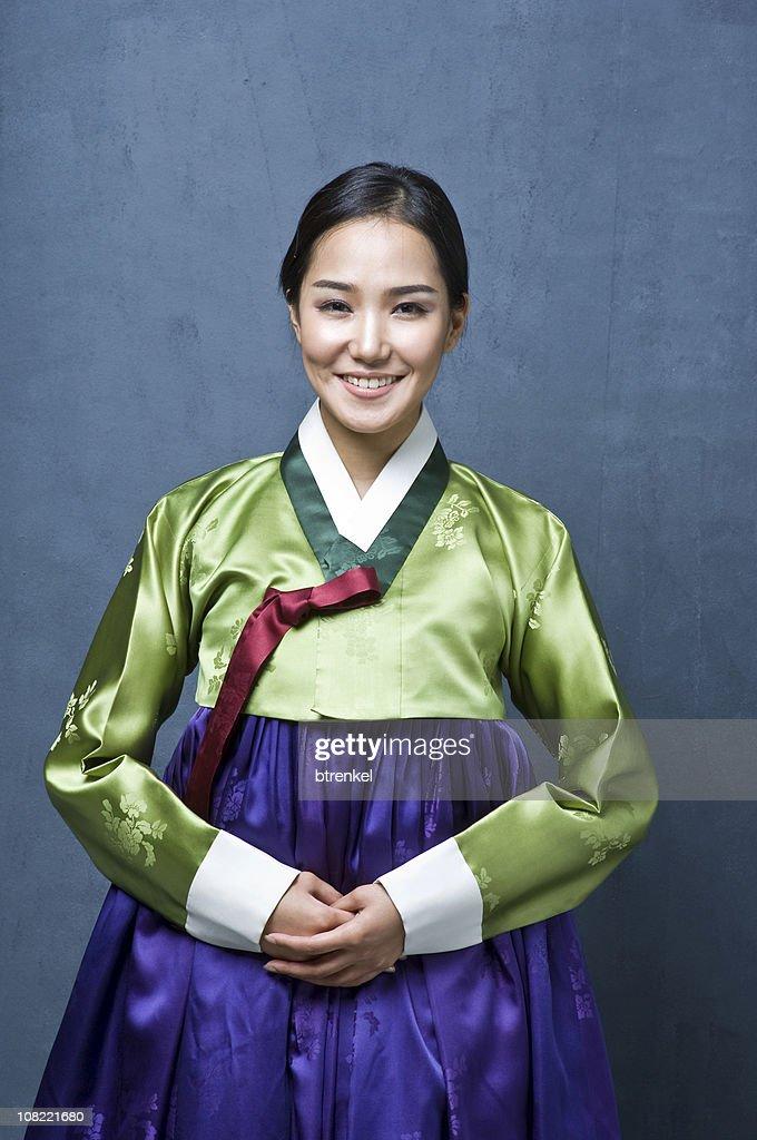 Korean hanbok : Stock Photo