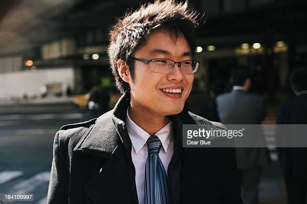 Korean man in Japan