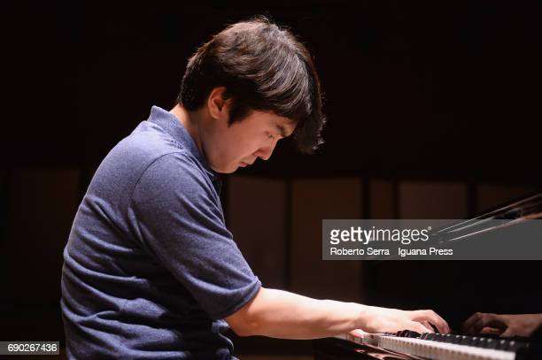 Korean musician Seong Jin Cho performs his concert for Bologna Festival at Auditorium Manzoni on May 30 2017 in Bologna Italy