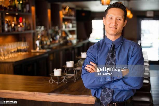Korean owner in bar