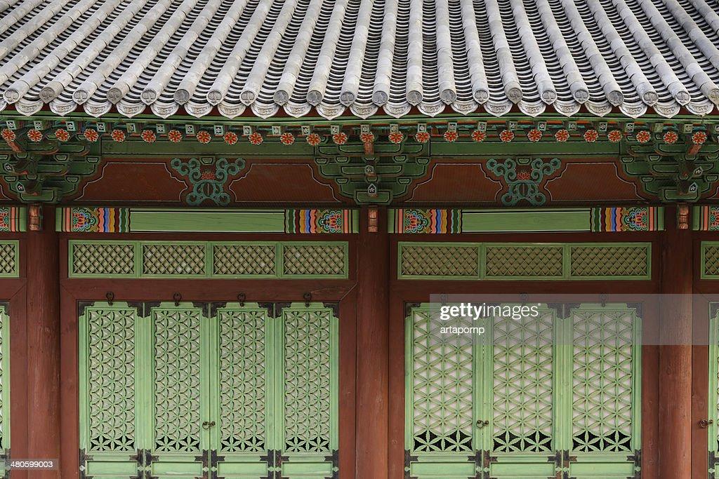 Korean palace : Stock Photo