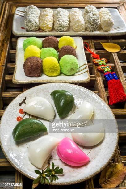 Korean traditional holiday food