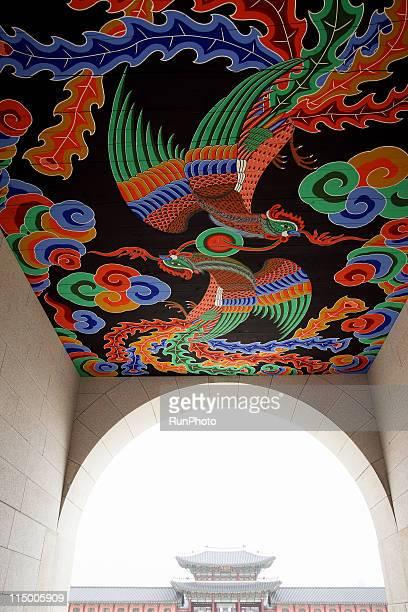 korea,royal palace image - palast stock-fotos und bilder