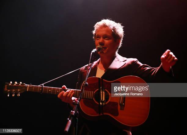 Korey Dane performs live on stage at Terminal 5 on February 16 2019 in New York City