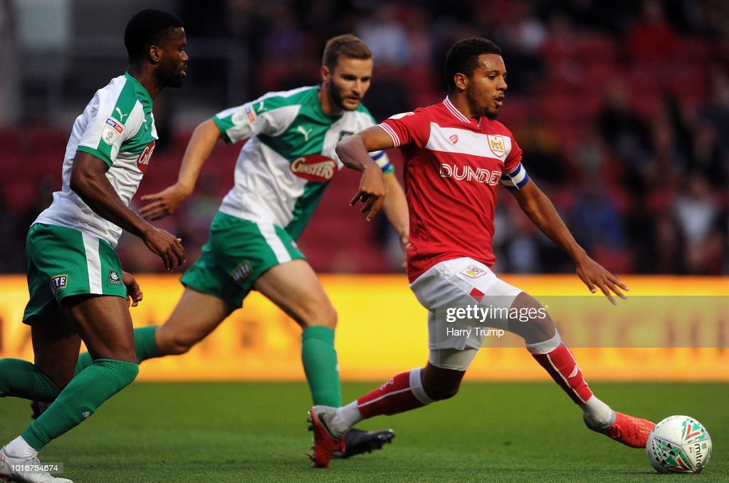 Bristol City v Plymouth Argyle - Carabao Cup First Round