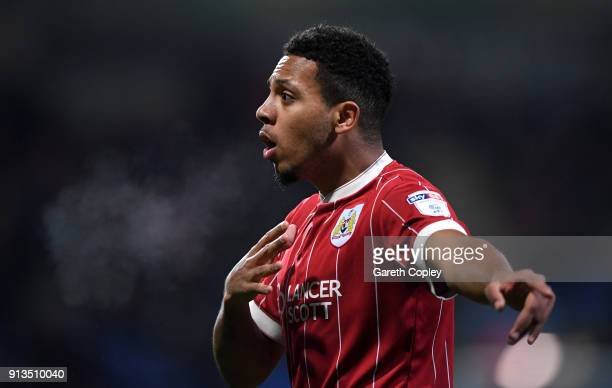 Korey Smith of Bristol City during the Sky Bet Championship match between Bolton Wanderers and Bristol City at Macron Stadium on February 2 2018 in...