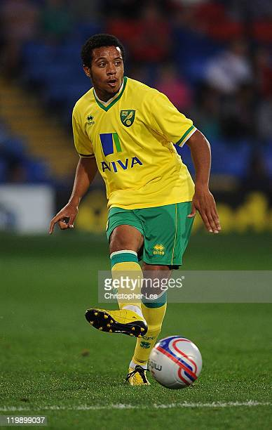 Korey Smith of Norwich City during the Pre Season Friendly match between Crystal Palace and Norwich City at Selhurst Park on July 26 2011 in London...