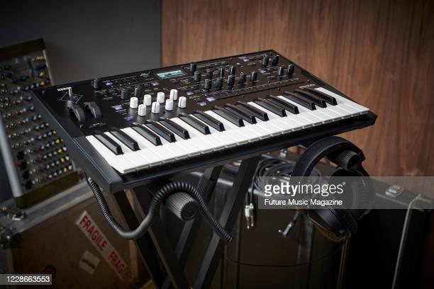 A Korg Wavestate wave sequencing synthesizer taken on December 9 2019