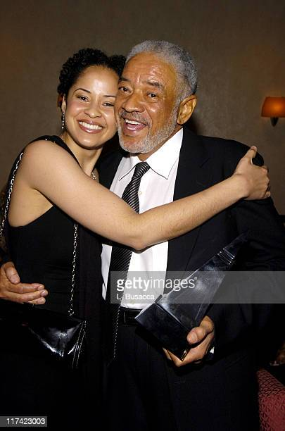 Kori Withers and Bill Withers during 36th Annual Songwriters Hall of Fame Induction Ceremony VIP Cocktail Reception at Marriott Marquis Hotel in New...