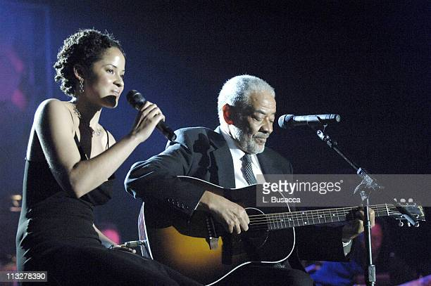 Kori Withers and Bill Withers