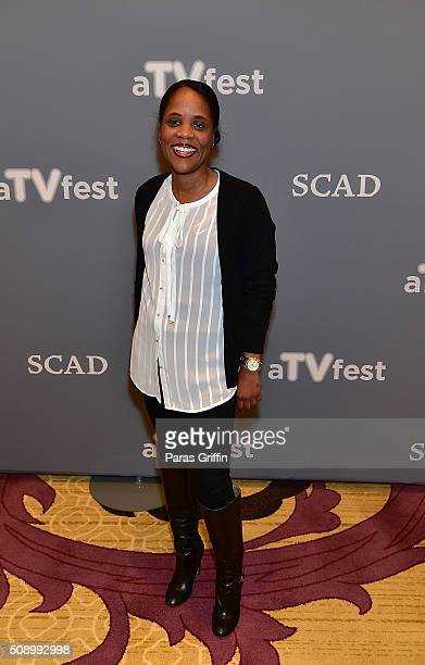 Korin Huggins attends 'Uncle Buck' event during aTVfest 2016 presented by SCAD on February 7 2016 in Atlanta Georgia