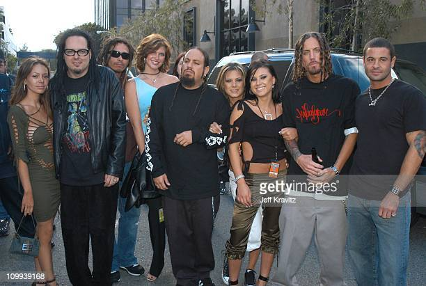 Korn during MTV Icon Metallica Arrivals at Universal Studios Stage 12 in Universal City CA United States