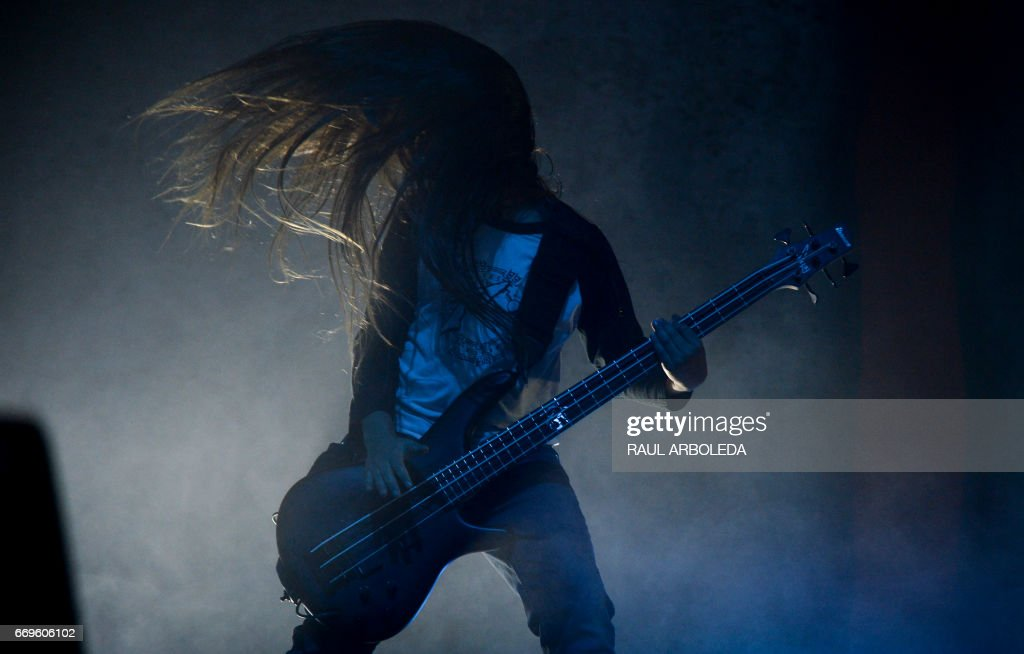 COLOMBIA-MUSIC-KORN : News Photo