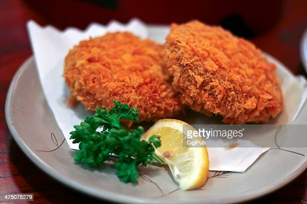 korokke - croquette stock photos and pictures