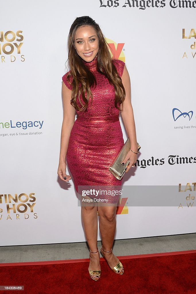 Korrina Rico attends the 2013 Latinos de Hoy Awards at Los Angeles Times' Chandler Auditorium on October 12, 2013 in Los Angeles, California.